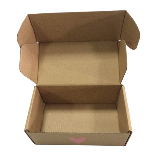 Plain Kraft Paper Corrugated Box