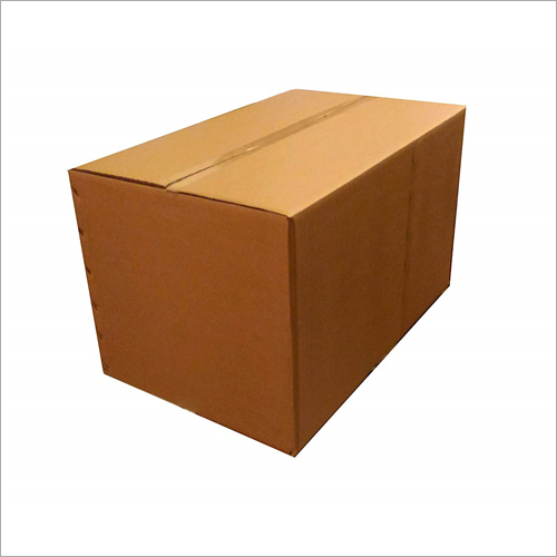 Brown Big Corrugated Packaging Box