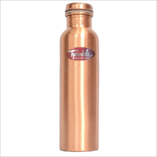 1 Ltr Drinking Water Copper Bottle