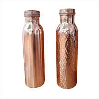 Hammered Pure Copper Bottles
