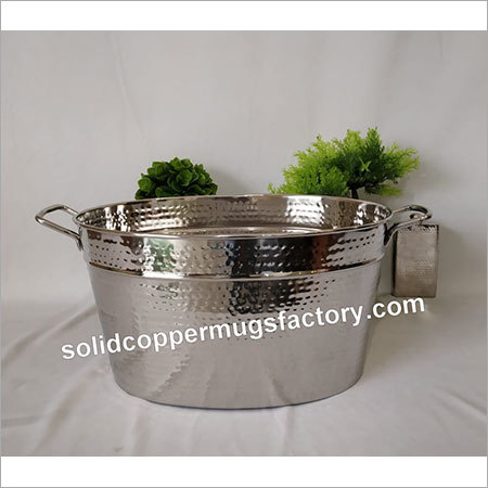 Oval champagne bucket
