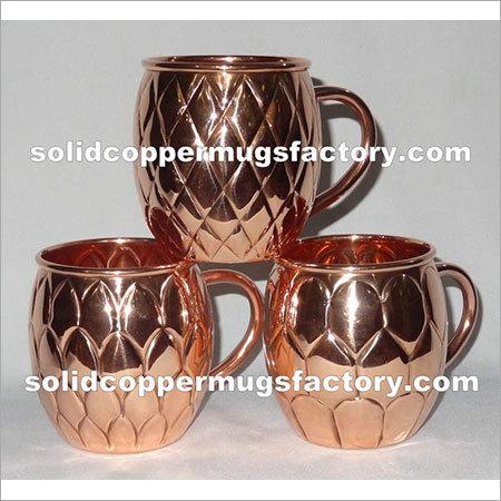 Embossed Copper Mule Mug