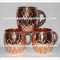 Embossed Copper Mule Mug