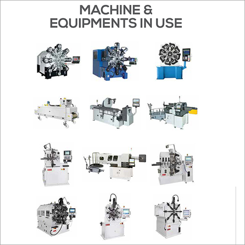 Machine & Equipments In Use