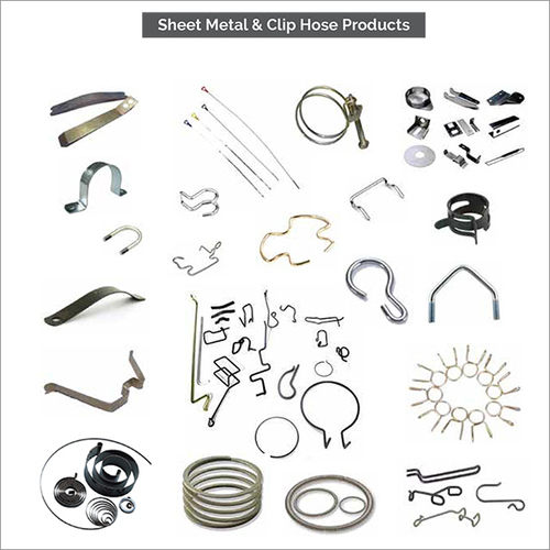 Sheet Metal House Clip