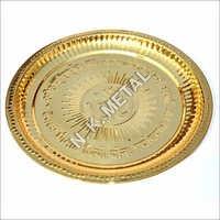Brass Nakshi Pooja Plate
