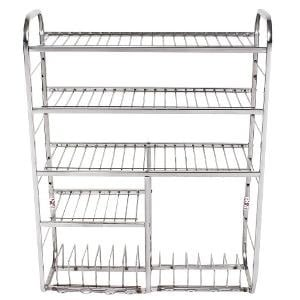 Modular Stainless Steel Kitchen Rack