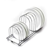 Rim Zim Stainless Steel Plate Rack Home