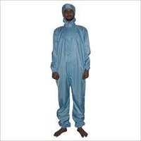 Lint Free Coverall With Hood
