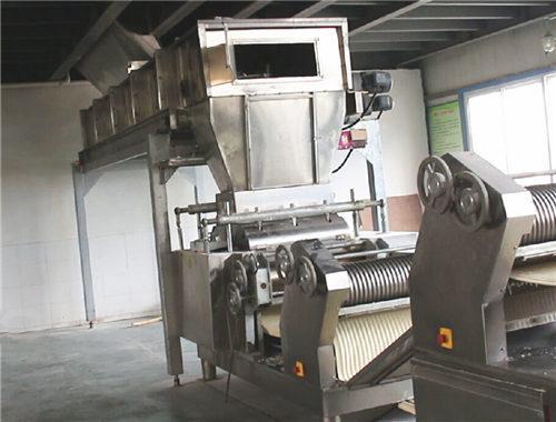 Fresh and Semi Dried Noodle Machine
