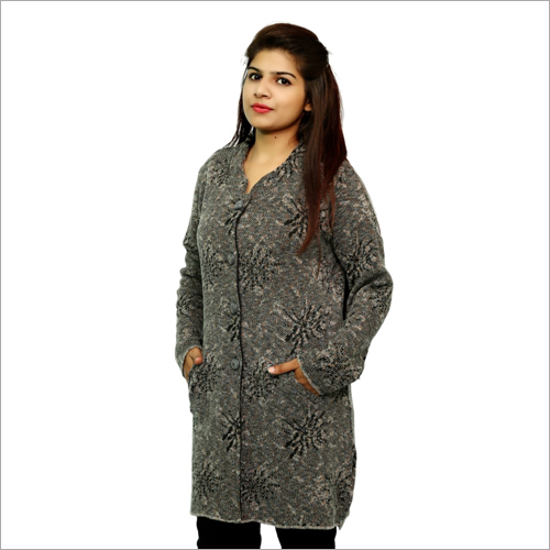 Ladies Stylish Woolen Coat