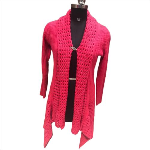 Ladies Designer Woolen Coat