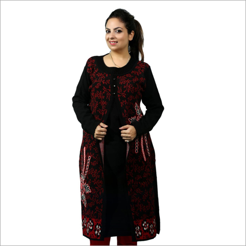 Ladies Stylish Woolen Kurti
