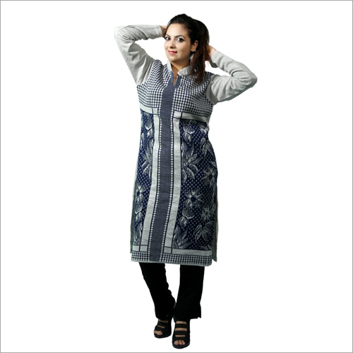 Full Sleeve Ladies Woolen Kurti