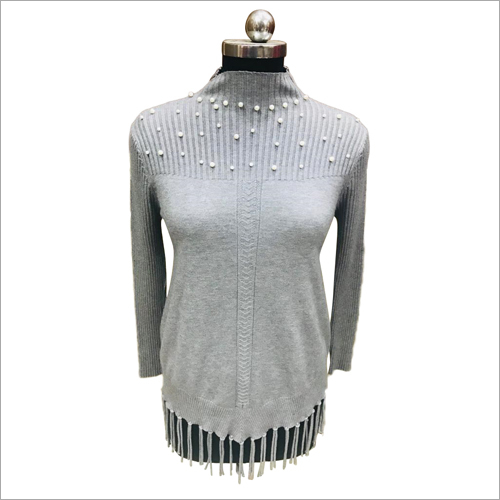 Ladies Designer Woolen Top
