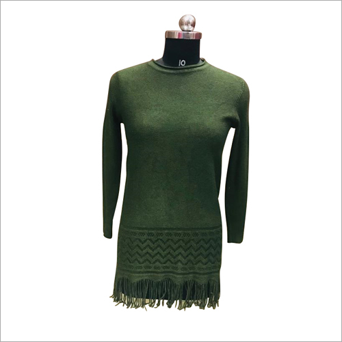 Ladies Fashionable Woolen Kurti