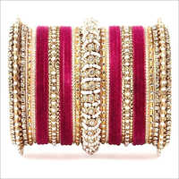 Ladies Studded Fancy Bangles Set