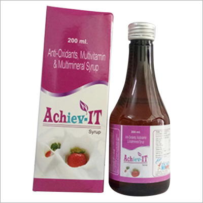 Antioxidants Multivitamin And Multimineral Syrup