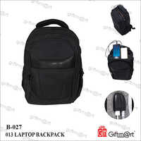 Plain Laptop Backpack