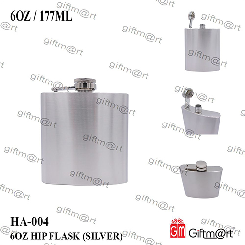 6 OZ Hip Flask