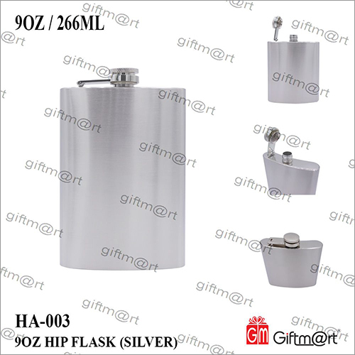 9 OZ  Hip Flask