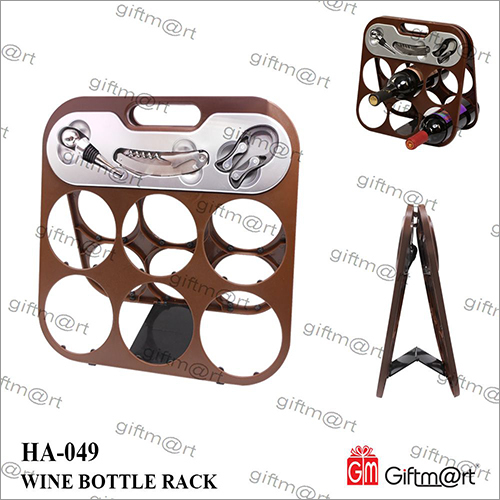 Wine Bottle Rack with Tools
