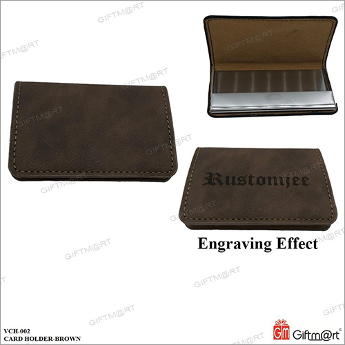 Exclusive Brown Card Holder