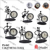 Black Metal Artistic Clock