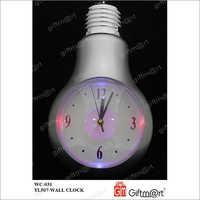 Bulb Wall Clock