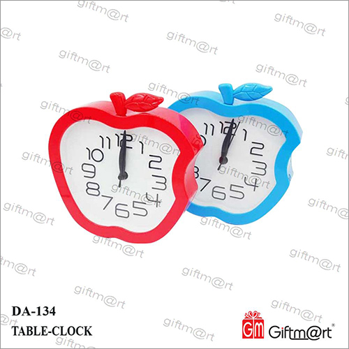 Apple Table Clock