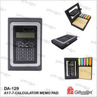 Calculator With Sticky Note