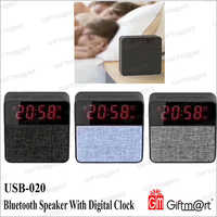 Bluetooth Speaker With Digital Clock