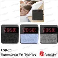 Bluetooth Speaker With Digital Clock