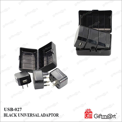 Universal Adaptor With USB Socket