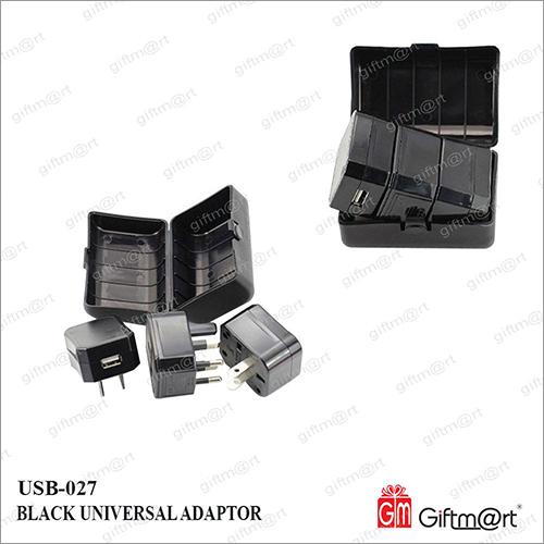 Universal Adaptor With USB Socket