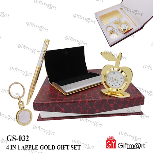 Apple Gold Gift- Set