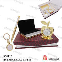 Apple Gold Gift- Set