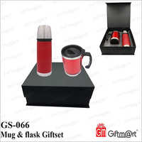 Double Wall Flask Gift Set