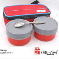 Executive Tiffin With Pouch