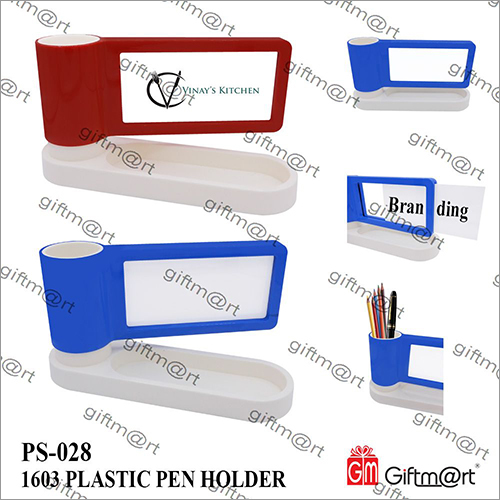 Advertisement Plastic Pen Holder