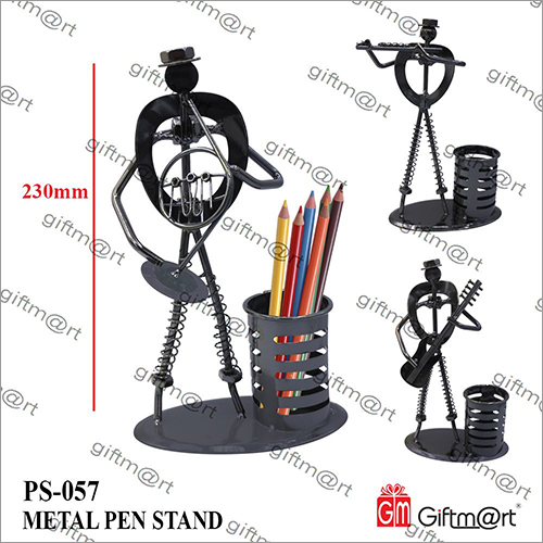 Black Iron Pen Holder