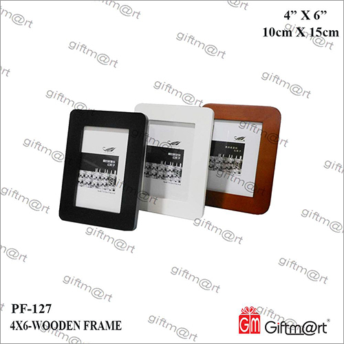 4X6 Wooden Photo Frame