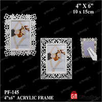 4X6 Plastic Photo Frame