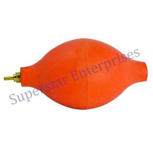Rubber Dust Blower with Brass Nozzle