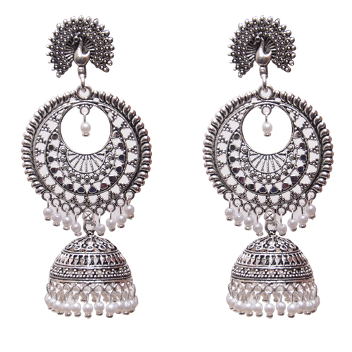 Antique Metal Dangle & Drop Fashion Earing For Women