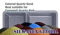 Ultra Fine Colored Quartz Sand