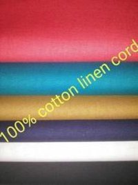 Cotton Linen Cord Fabric