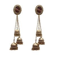Gold Metal Dangle & Drop Fashion Earring Women