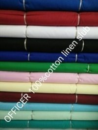 Cotton Linen Slub Fabric