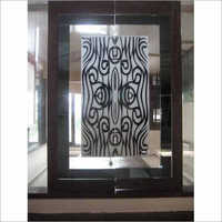 Lacqured Etching Glass